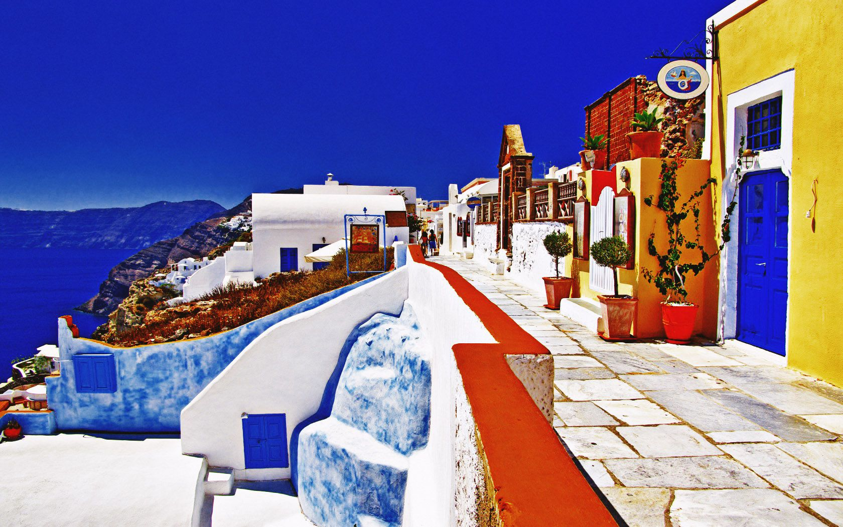 Santorini Wallpaper 109 images in Collection Page 1 1680x1050
