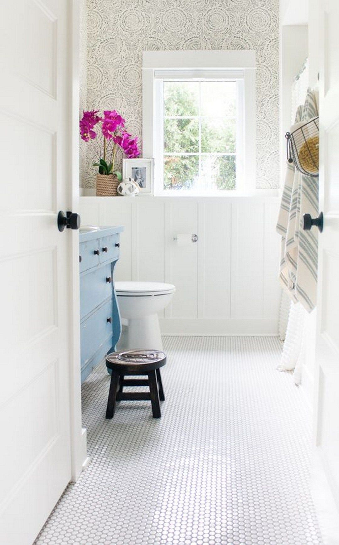 Beautiful Urban Farmhouse Master Bathroom Remodel 34 in 2019 1080x1733