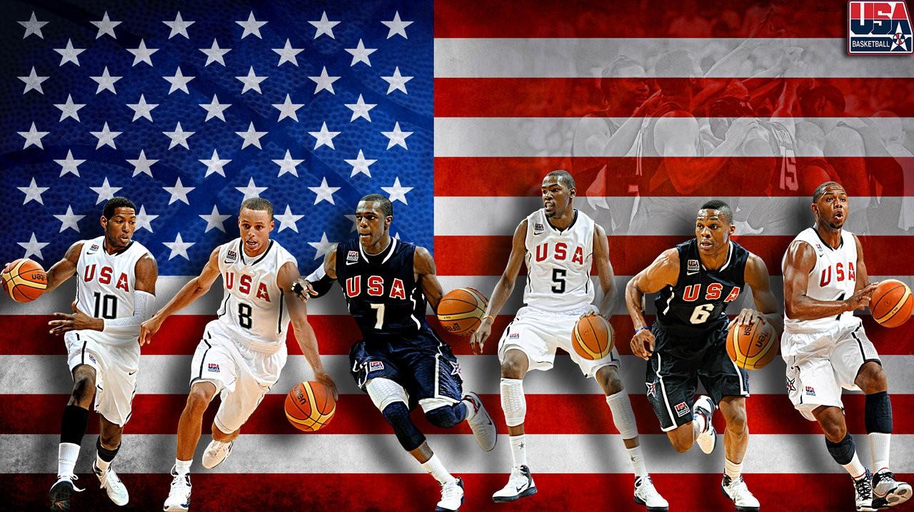 Kevin Durant Team USA Rajon Rondo Danny Granger Stephen Curry 1280x718