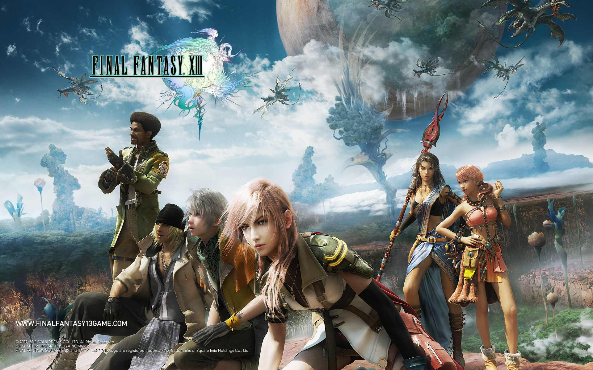 Final Fantasy 13 Wallpaper Full HD 1080p Wallpaper HD Widescreen 1920x1200