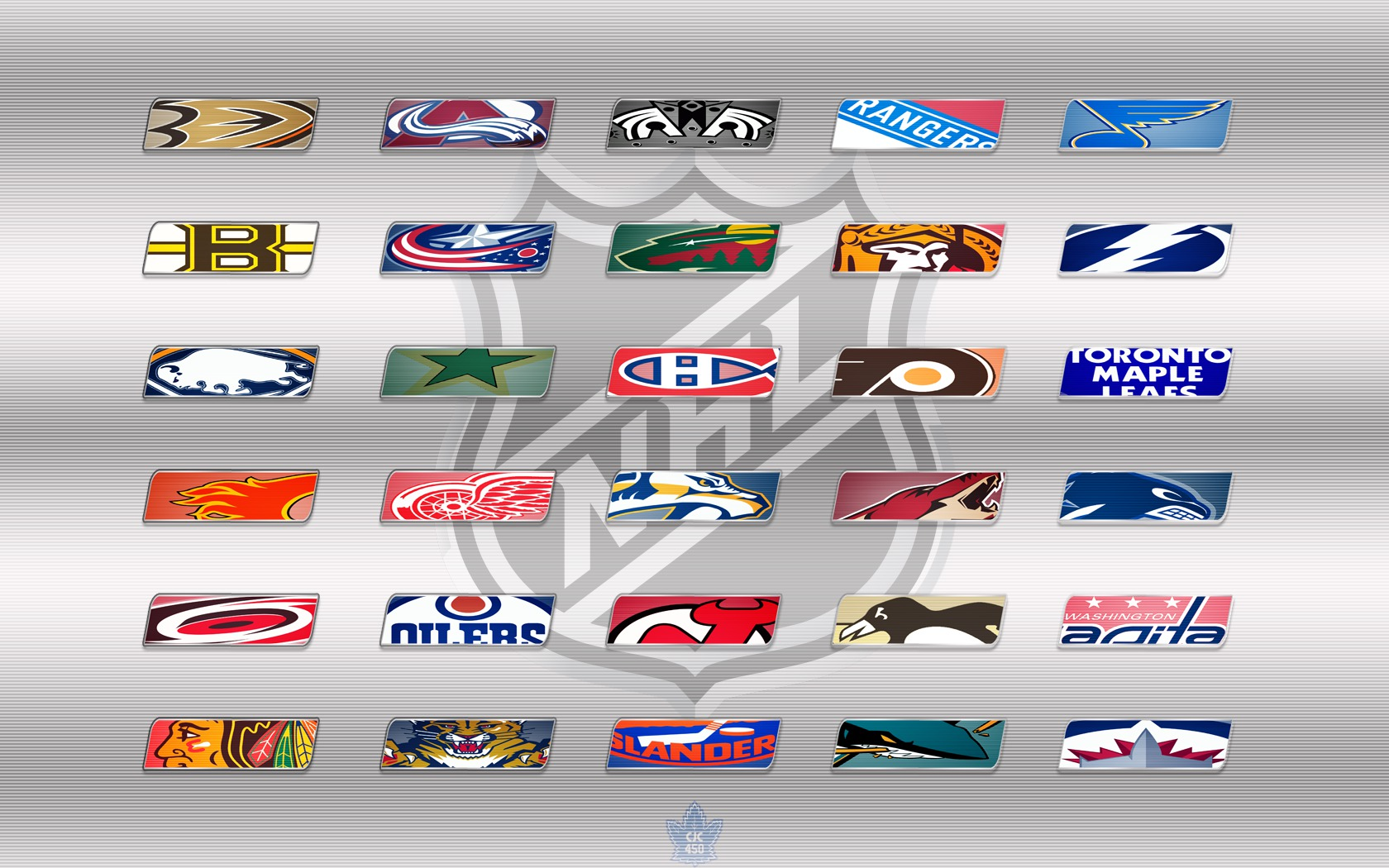 NHL Teams Logos Wallpaper   2012 wallpaper   ForWallpapercom 1680x1050