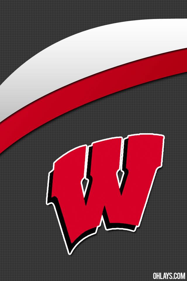 Wisconsin Badgers iPhone Wallpaper 640x960