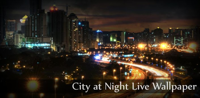 apps and games City at Night Live Wallpaper v12 apk download 705x344