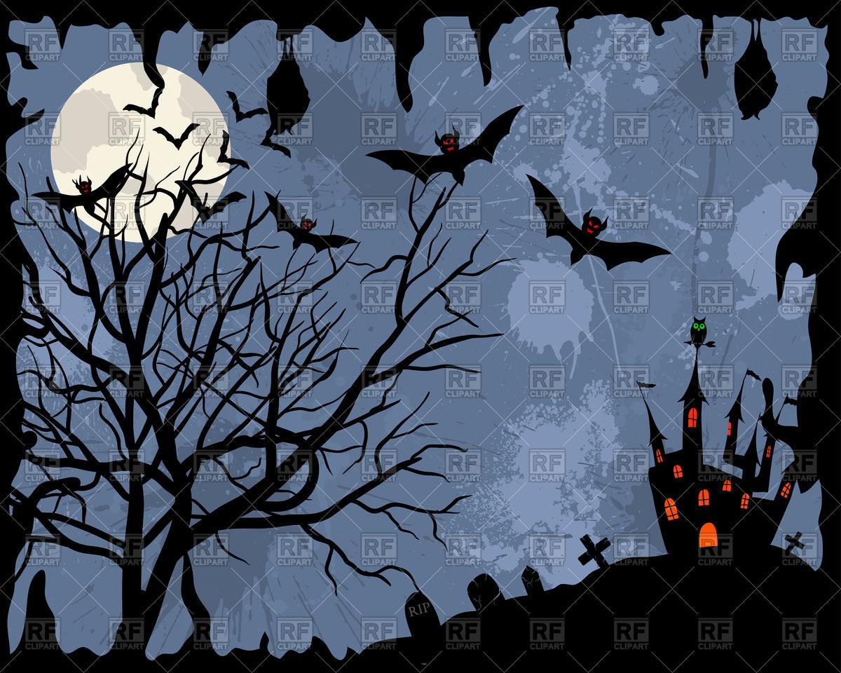 Halloween background Vector Image of Backgrounds Textures 1200x960
