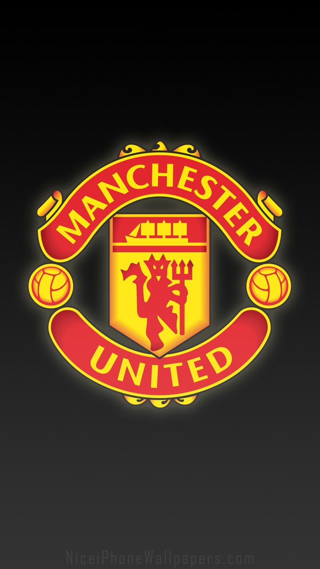 Free Download Manchester United Fc Logo Hd Black Iphone 44s Wallpaper And 640x1136 For Your Desktop Mobile Tablet Explore 48 Manchester United Iphone Wallpaper Manchester United Wallpaper 2015 Manchester