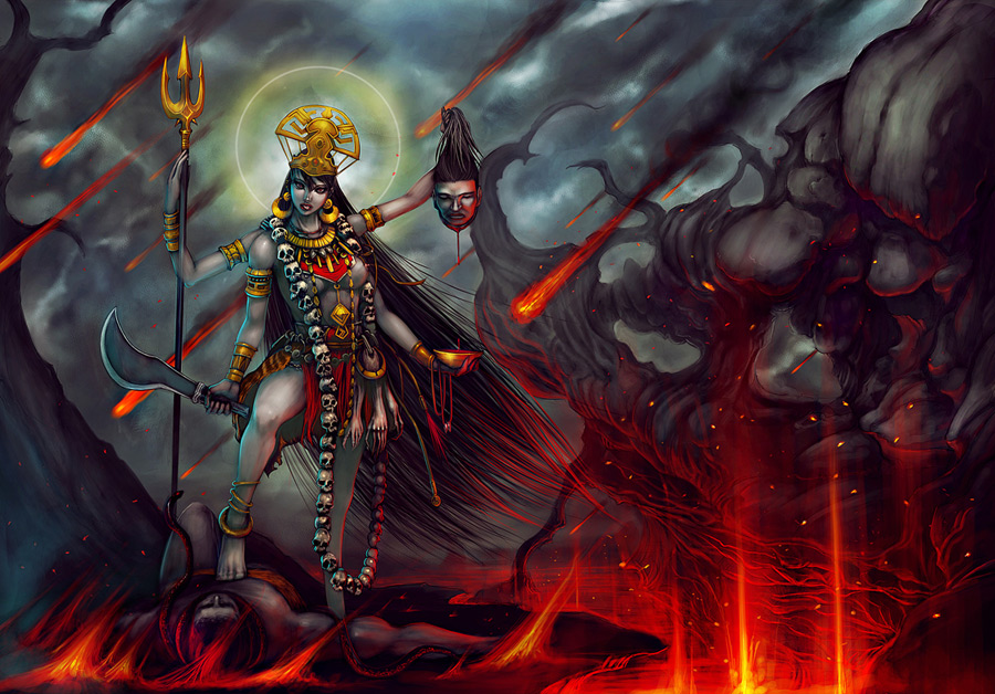kali Goddess kali kali is one of the many forms of shakti maha kaali is the fiercest of all goddesses of hinduism the word kali has its roots in the sanskrit word kaal, which means time.