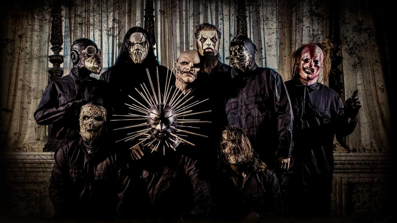 Slipknot Logo Wallpapers 2015 1366x768