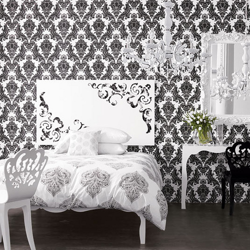 Paint vs Wallpaper Home Interior Design Ideas 500x500