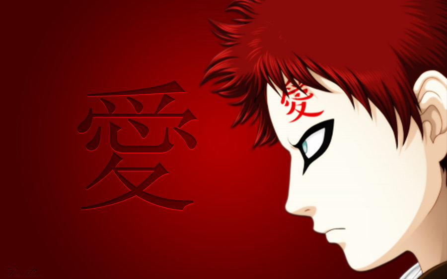 Wallpaper Simple Gaara HD 1920x1200 by DShepe 900x563