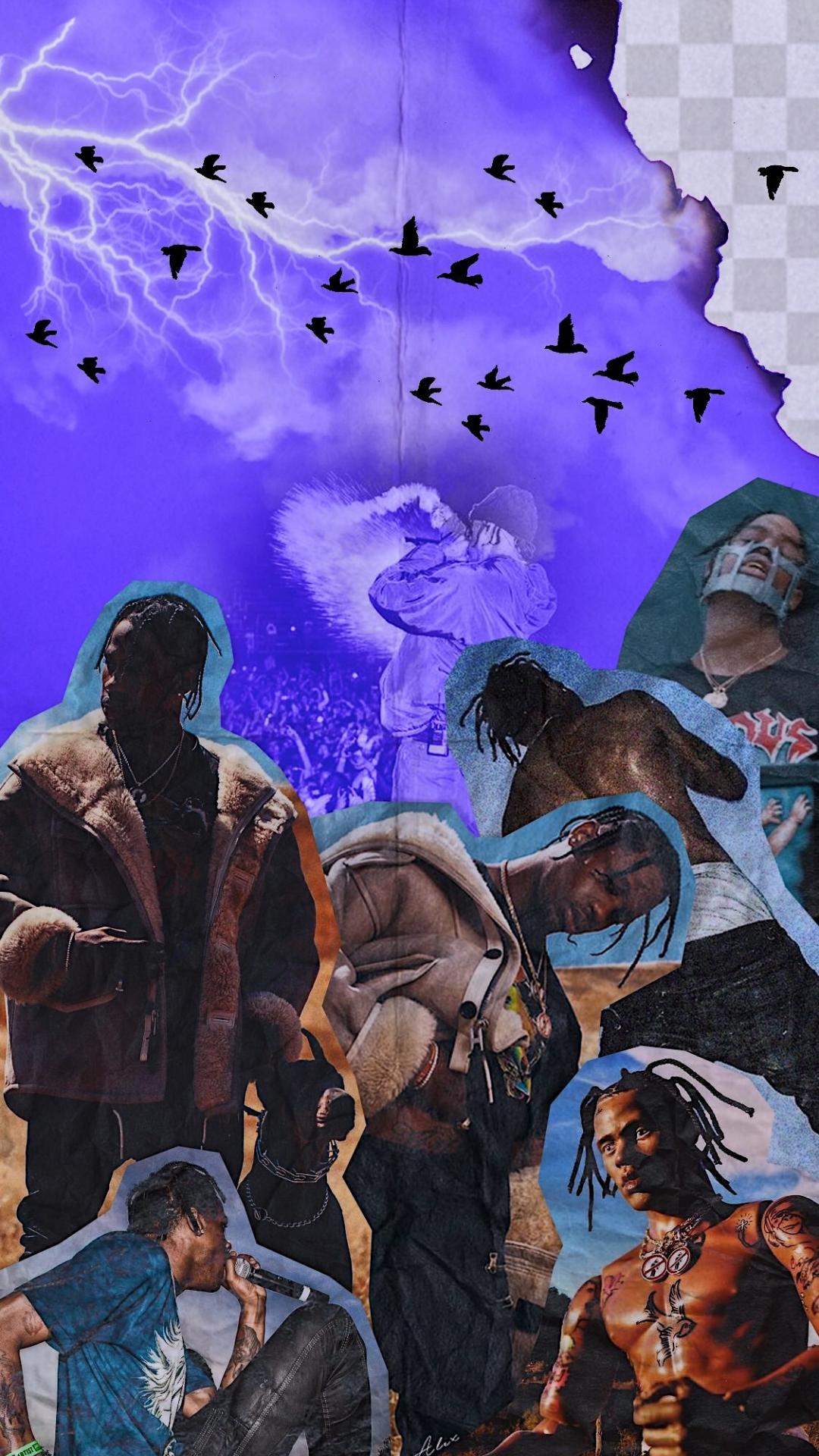 download art] Days Before Rodeo themed wallpaper travisscott 1080x1920