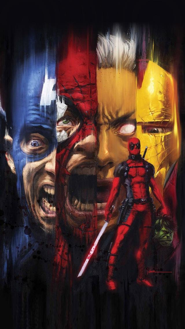 Deadpool Kills the Marvel Universe Best iPhone 5 Wallpapers 576x1024 640x1136