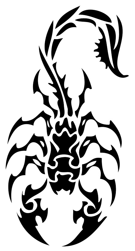 scorpion neck tattoo scorpion tattoo on back scorpion tattoo are the 450x833