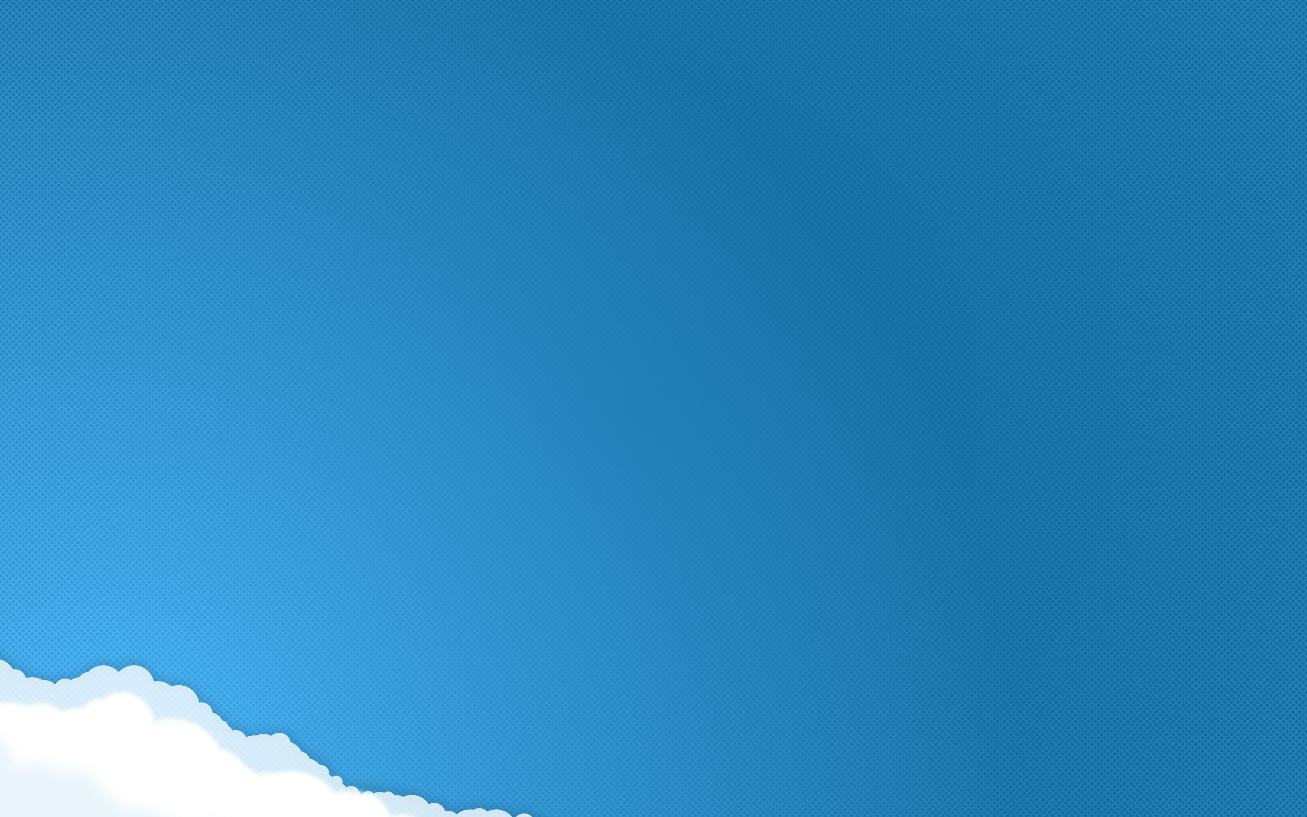 plain blue wallpaper HD 2560x1600