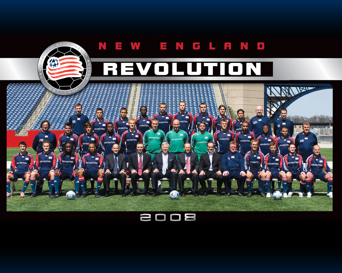 New England Revolution Football Wallpaper 1100x880
