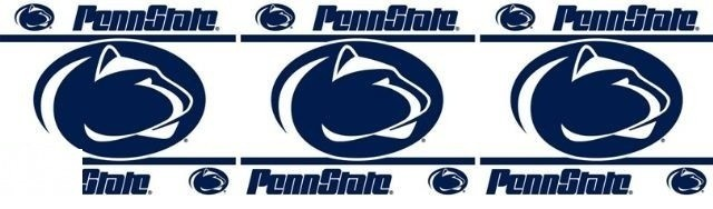 Penn State Nittany Lions Self Stick Wall Border contemporary wallpaper 640x188