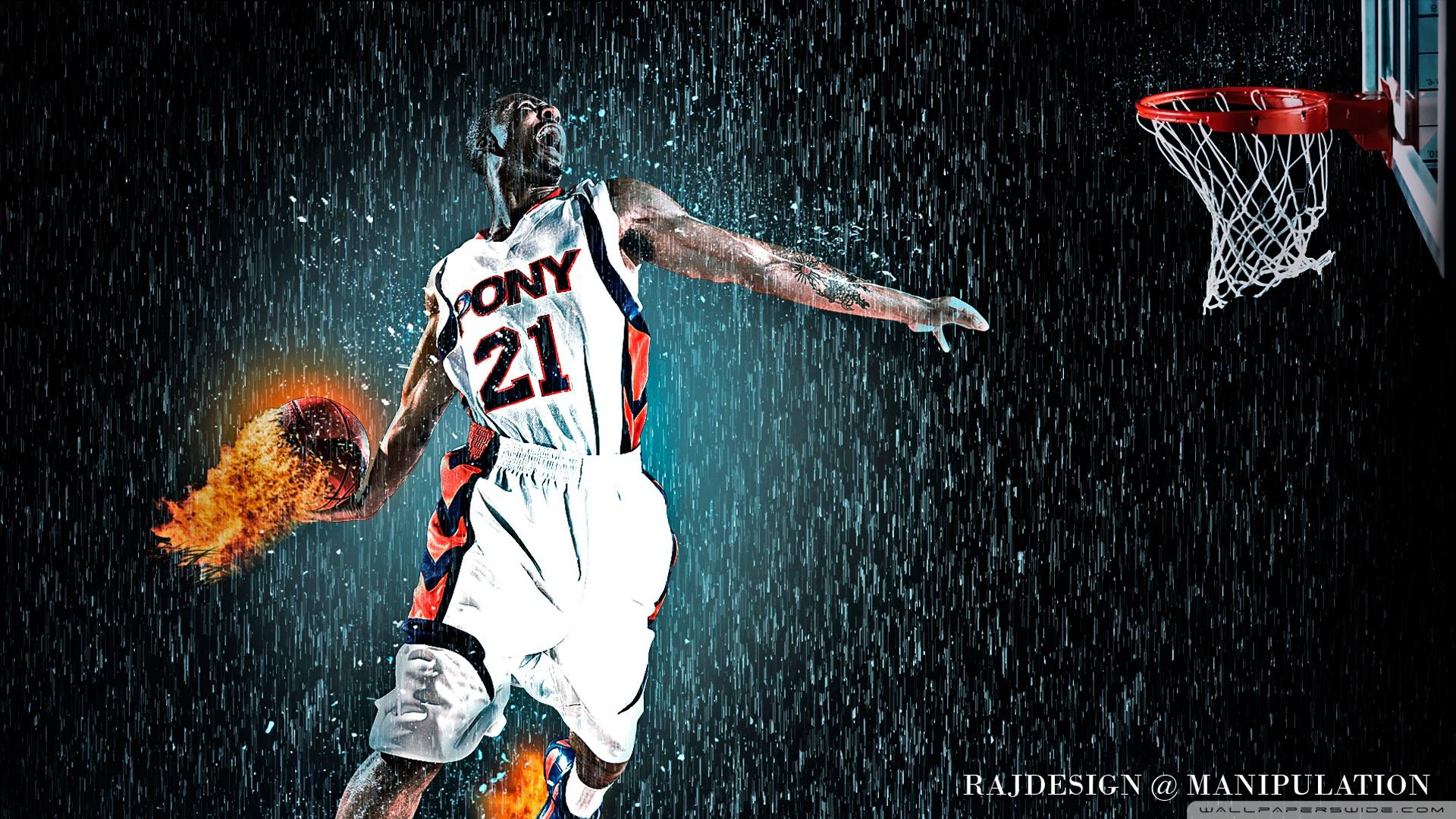 Set The Ball On Fire 1920x1080 HD Wallpaper Sport NBA Basketball 1920x1080