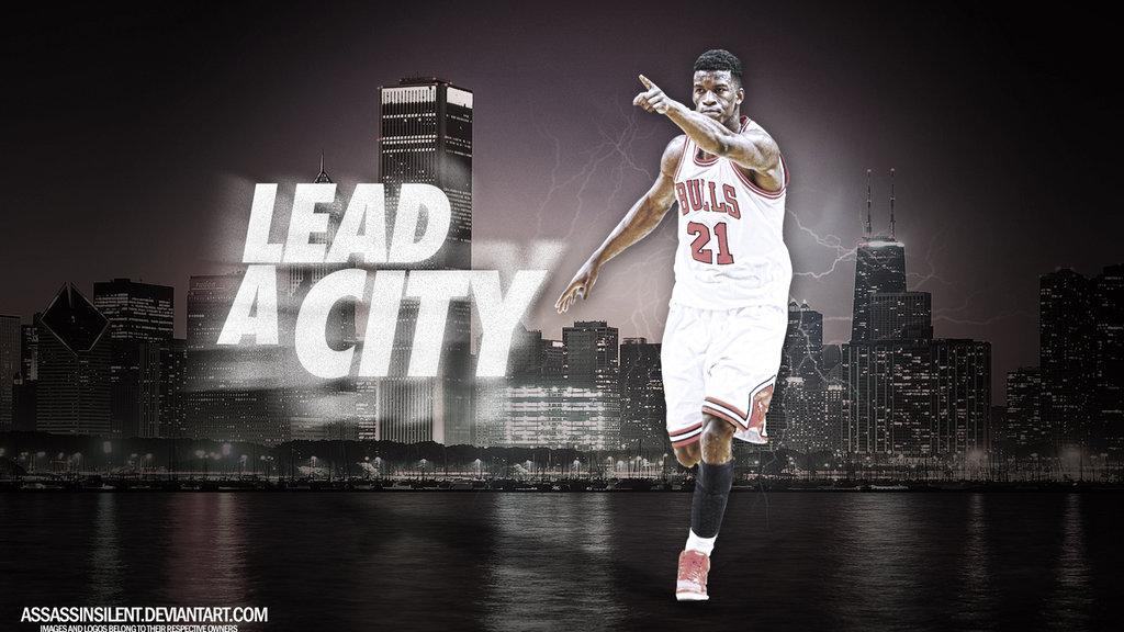 Jimmy Butler Wallpaper Jimmy Butler Lead a City 1024x576