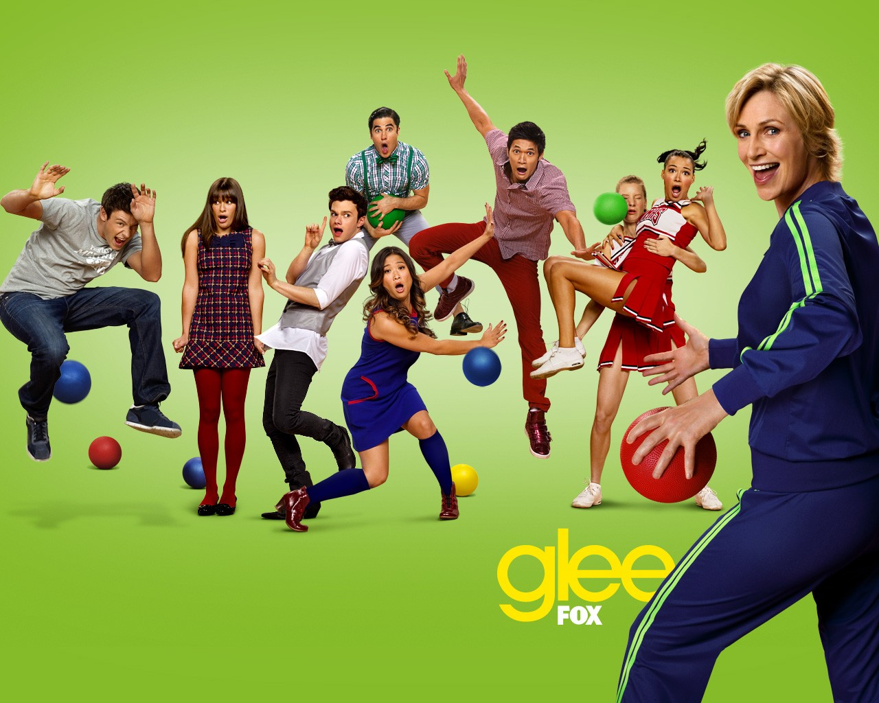 tv show glee wallpaper 20029963 size 1280x1024 more glee wallpaper 1280x1024