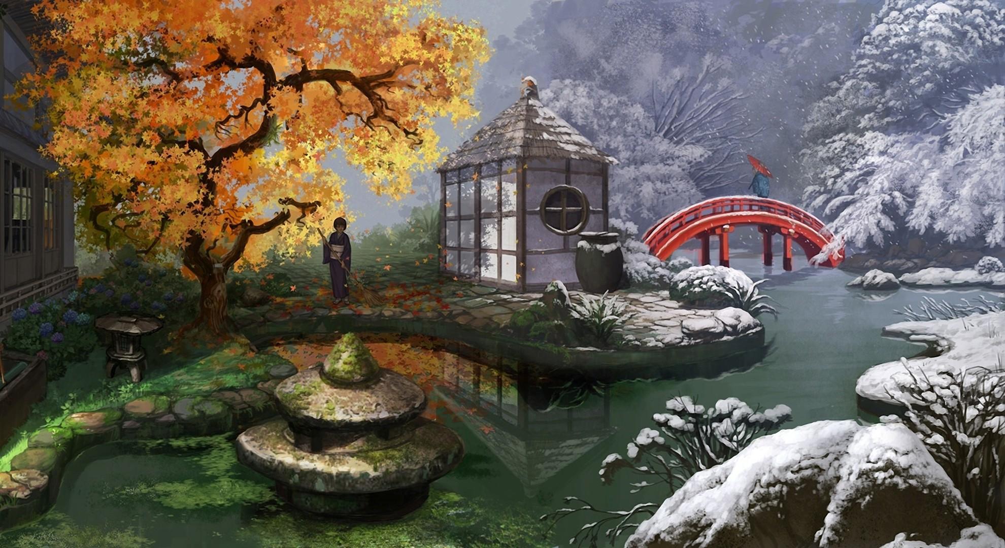 seasons 1980x1080 wallpaper Nature Seasons HD Desktop Wallpaper 1980x1080