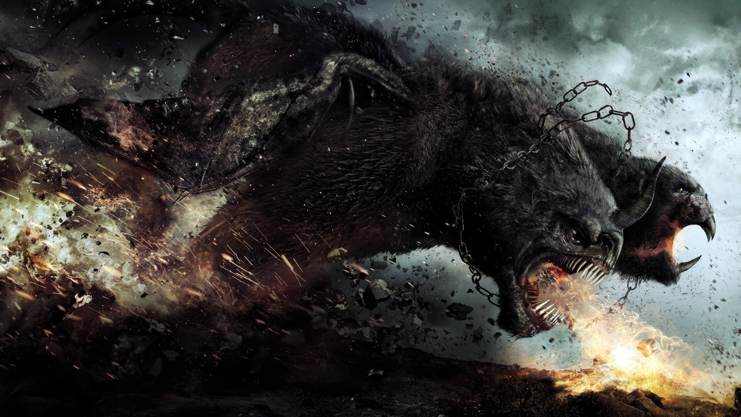 Wrath of The Titans Movie Wallpaper Background 58204 2560x1440px 2560x1440