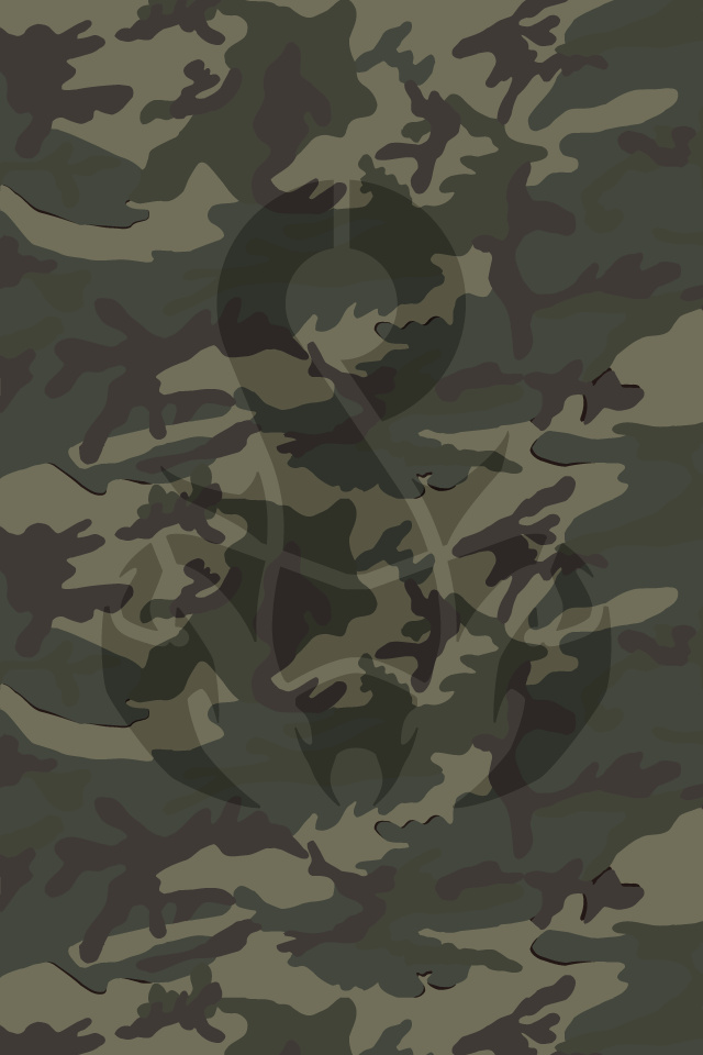 Wallpaper for iPhone Camo 640x960