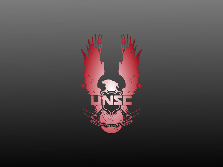 Halo Unsc Logo Hdhalo Unsc Wallpaper Red By Charizardag On Deviantart 900x675