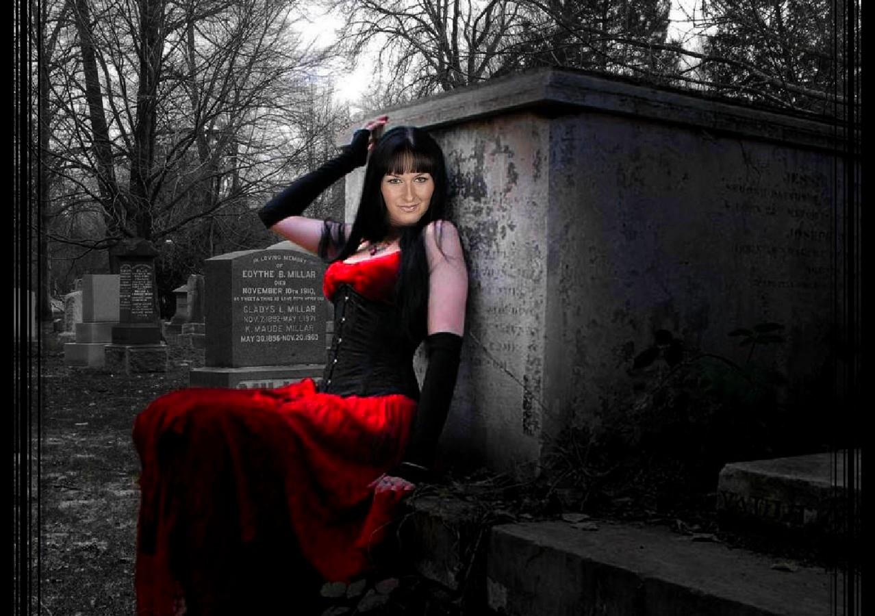 Photoshop art goth girl with my face wallpaper   ForWallpapercom 1278x900