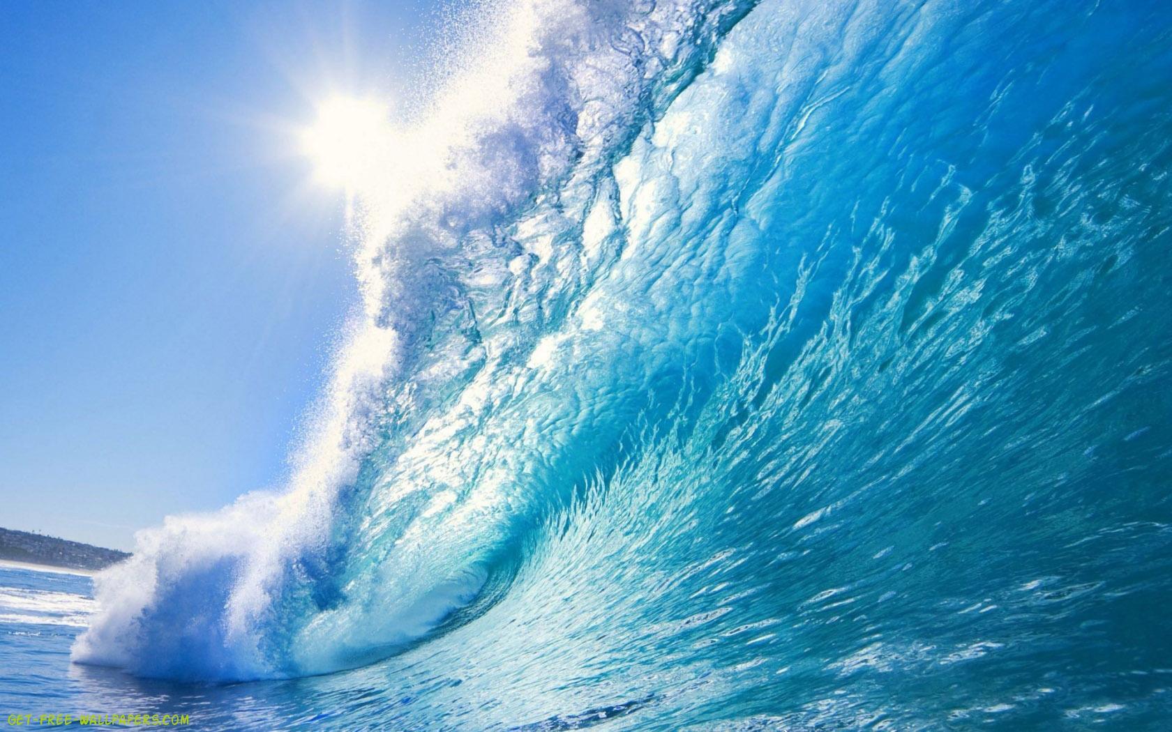 Download Beautiful Ocean Wave Wallpaper 1680x1050