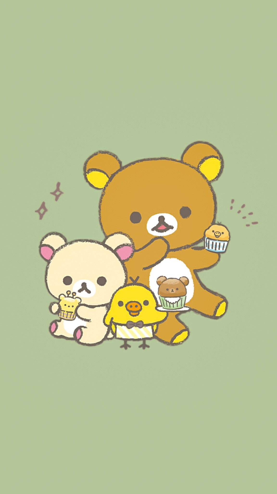 Pin by Aekkalisa on Rilakkuma BG Rilakkuma wallpaper Cartoon 1152x2048