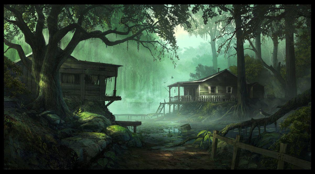 Bayou Photo Louisiana Swamp Swamp fever by AndreeWallin on 1202x665