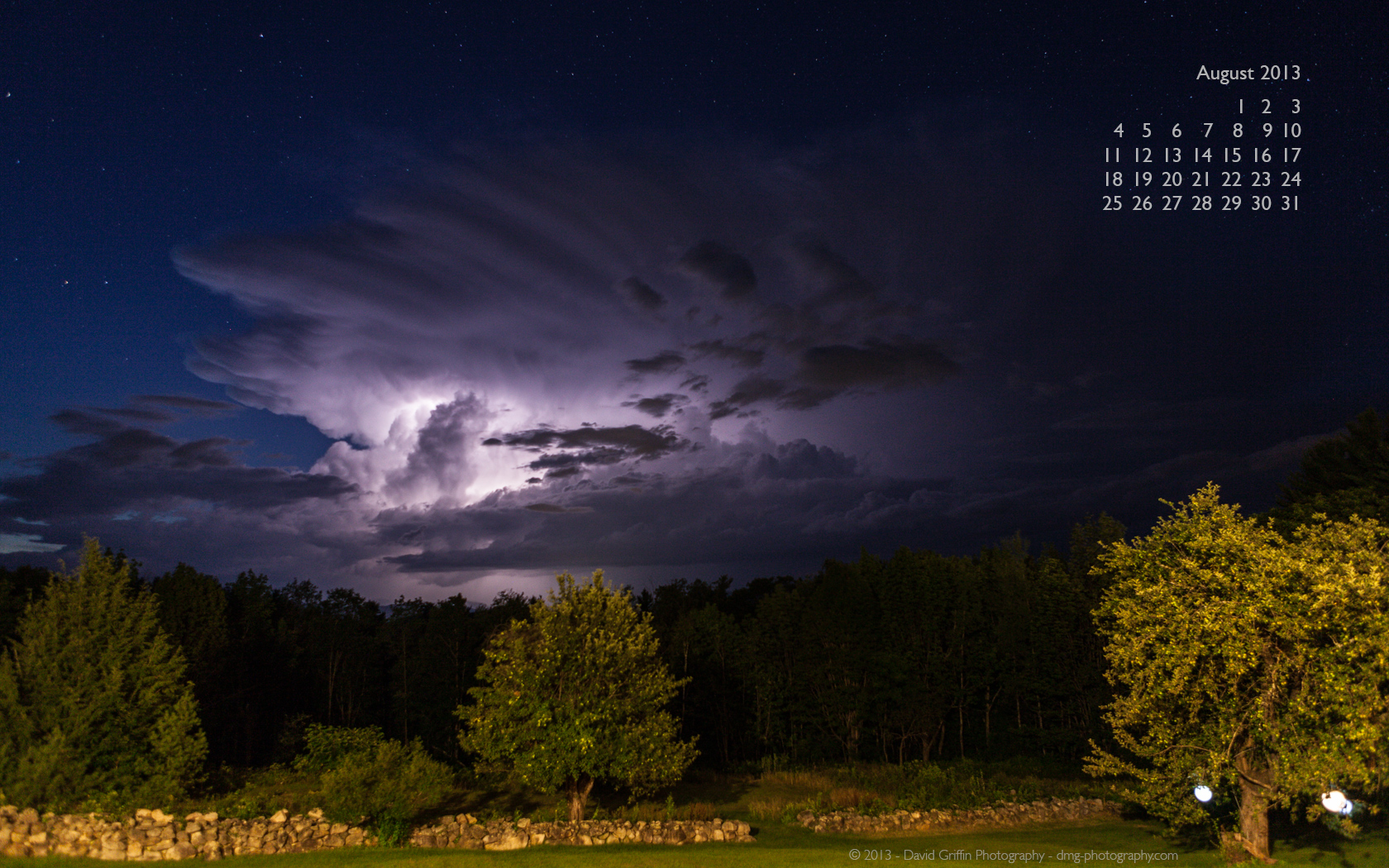 August 2013 Wallpaper David Griffin Photography 1680x1050