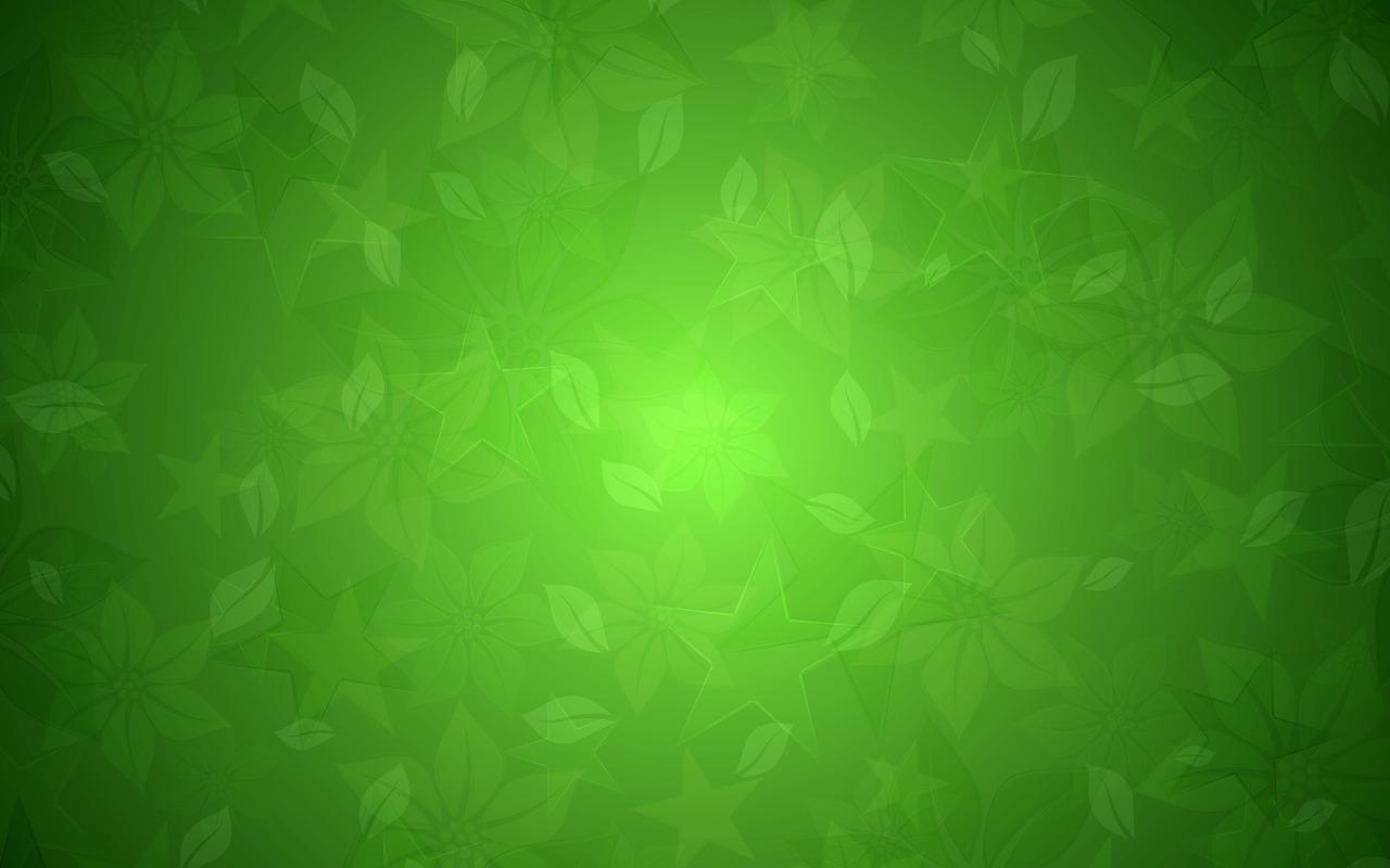 Green floral texture wallpaper 16850 1280x800