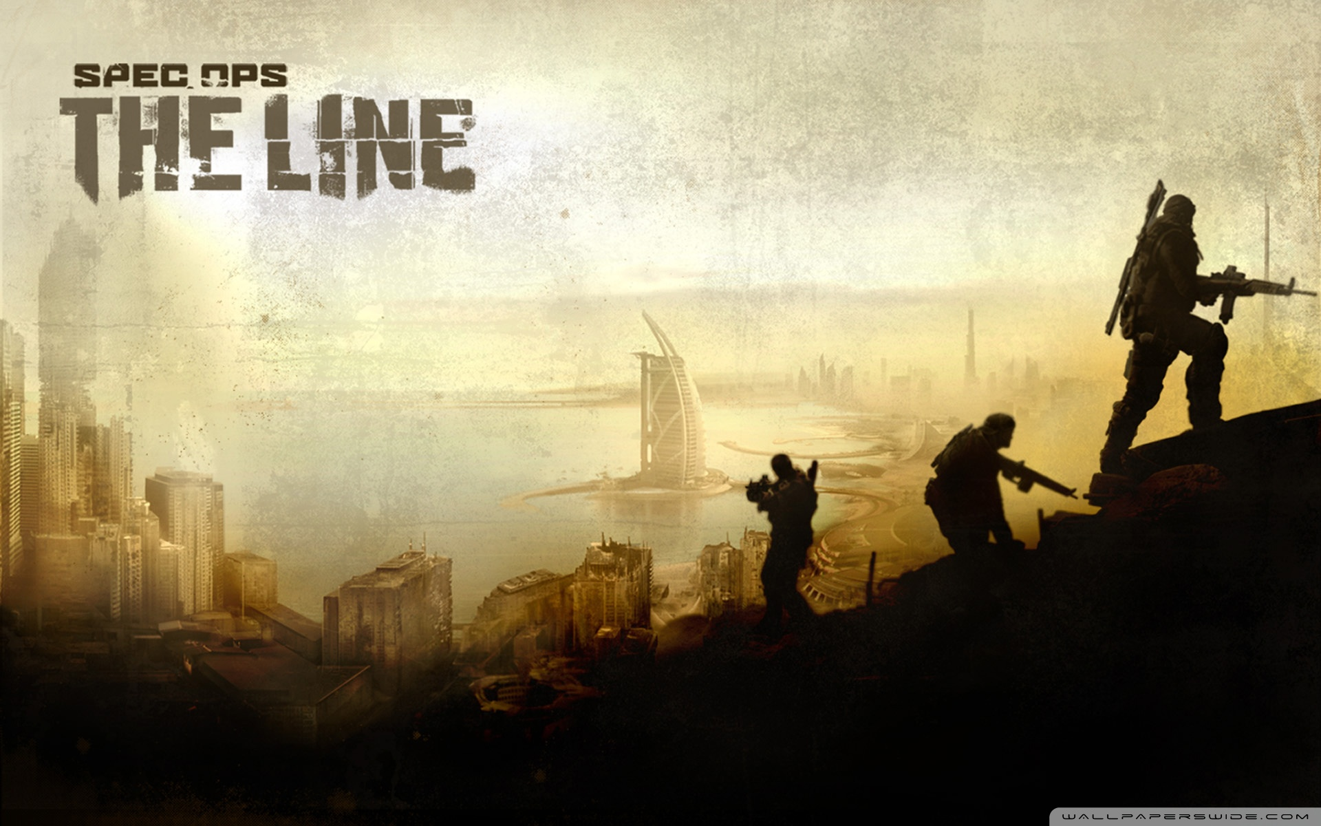 Spec Ops The Line Game 4K HD Desktop Wallpaper for 4K Ultra HD 1920x1200