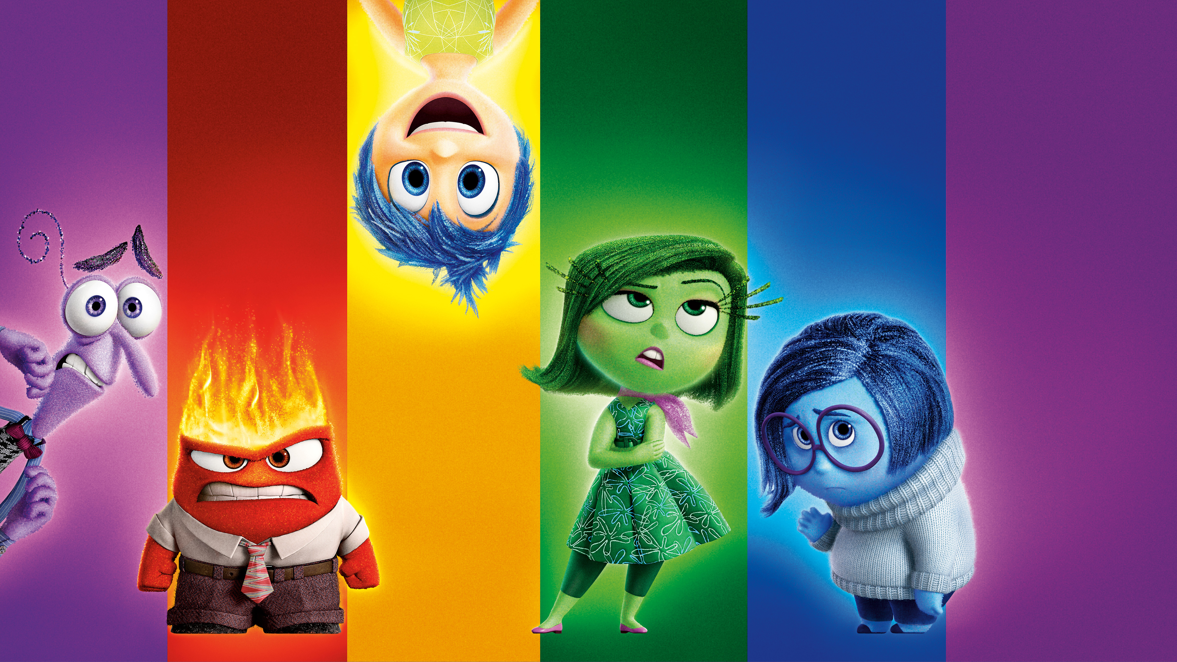 Inside out movie wallpaper wallpapersafari for Inside movie
