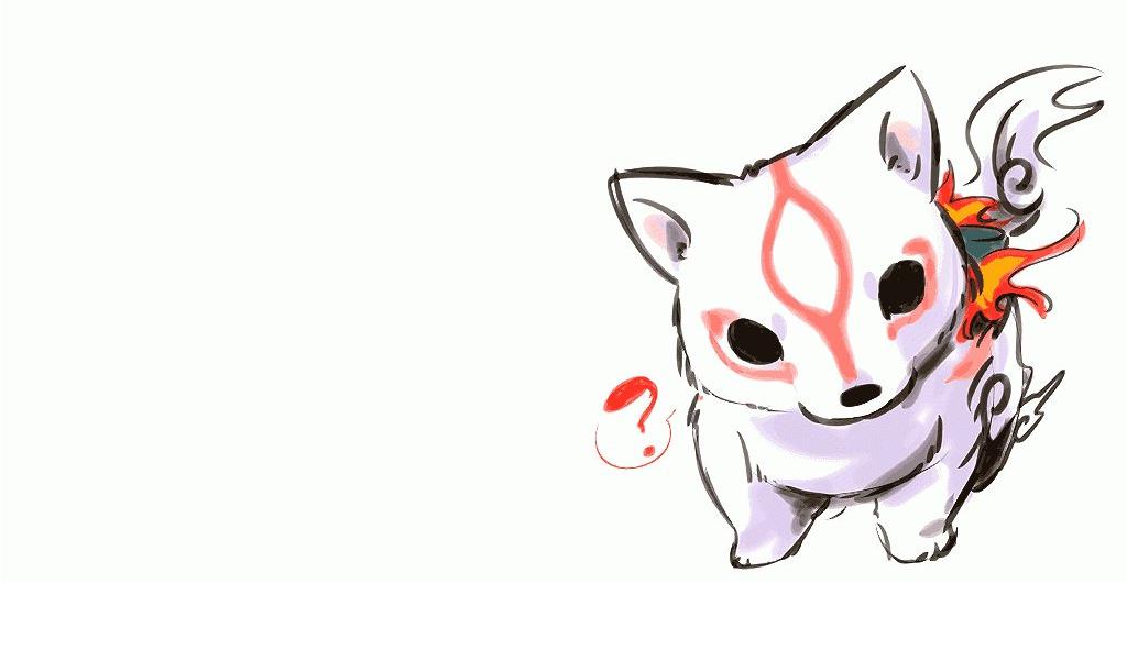 cute okami chibi amaterasu HD Wallpaper   Anime Manga 114605 1024x600