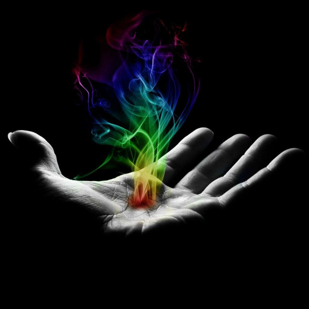 Free download Magic Hand iPad Wallpaper ...