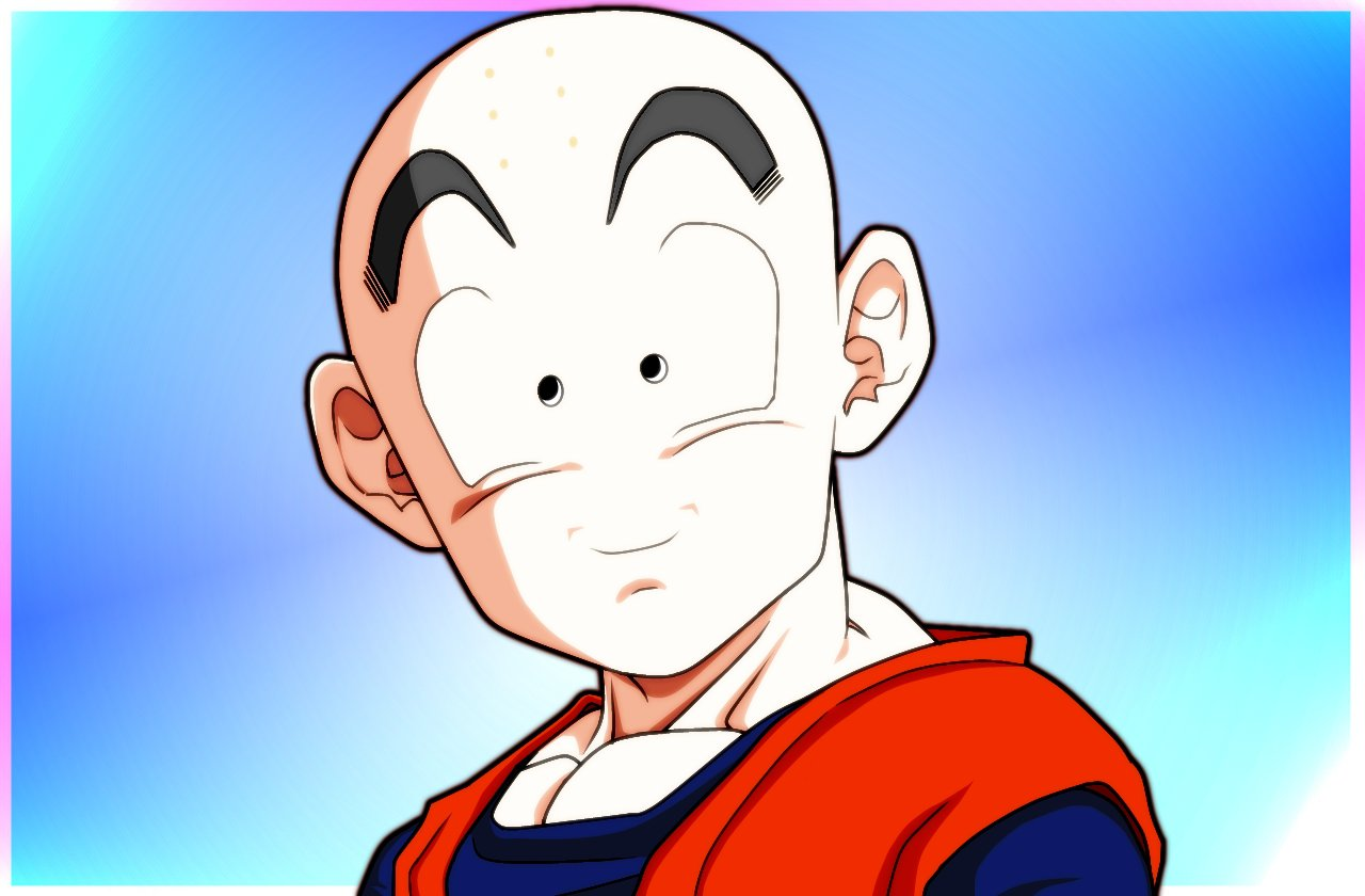Krillin CloseUp Finished by carapau 1280x840