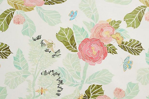 50 Anthropologie Watercolor Peony Wallpaper On Wallpapersafari
