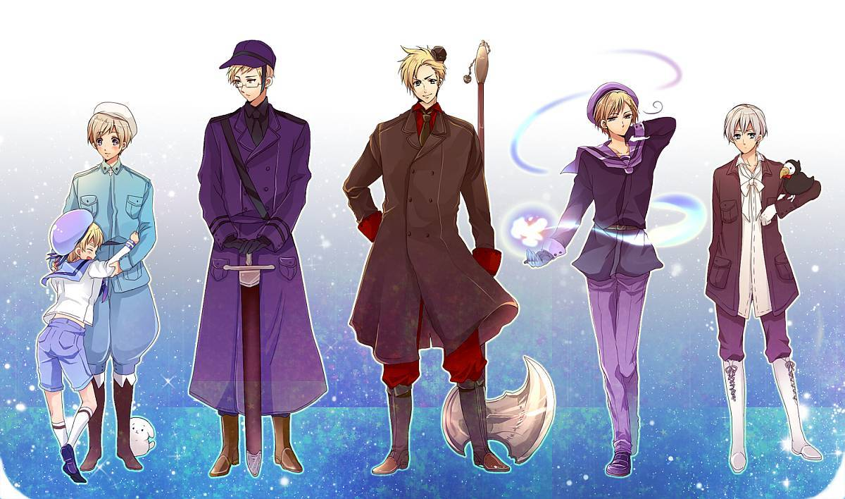 Hetalia Wallpaper Nordics Nordic 5 1200x708