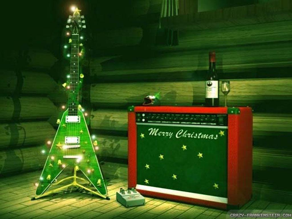 Wallpaper Rock Christmas Music wallpapers 1024x768