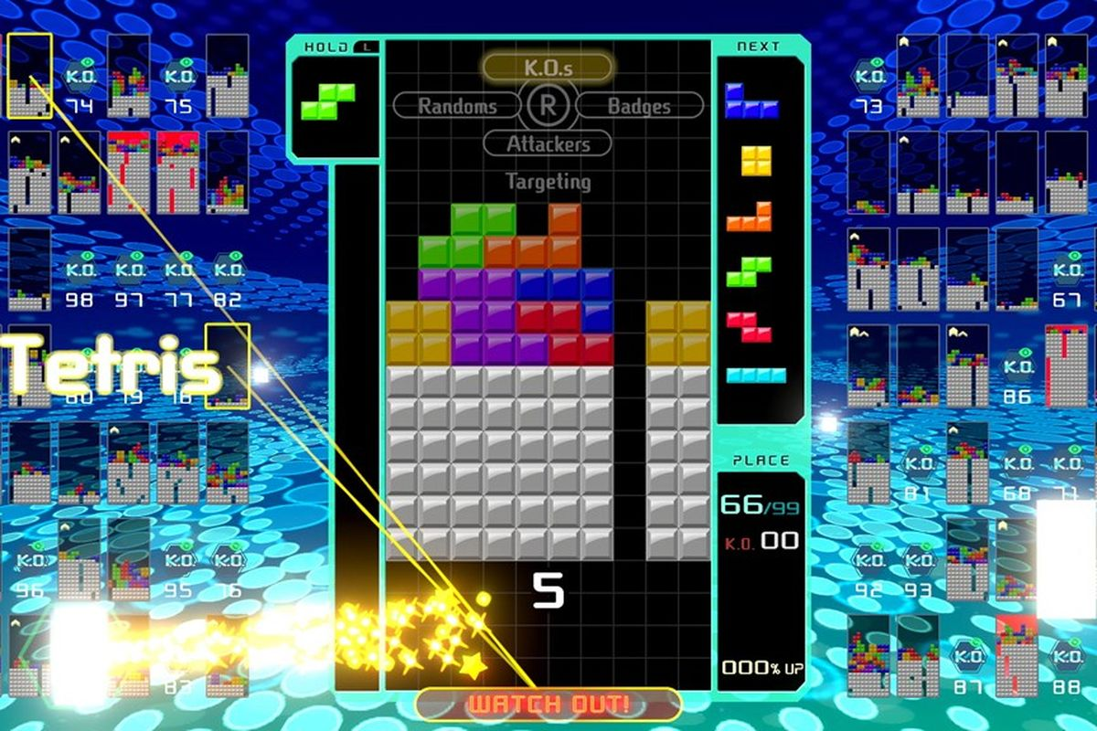 Tetris 99 is the opposite of Tetris Effect and its amazing   The 1200x800