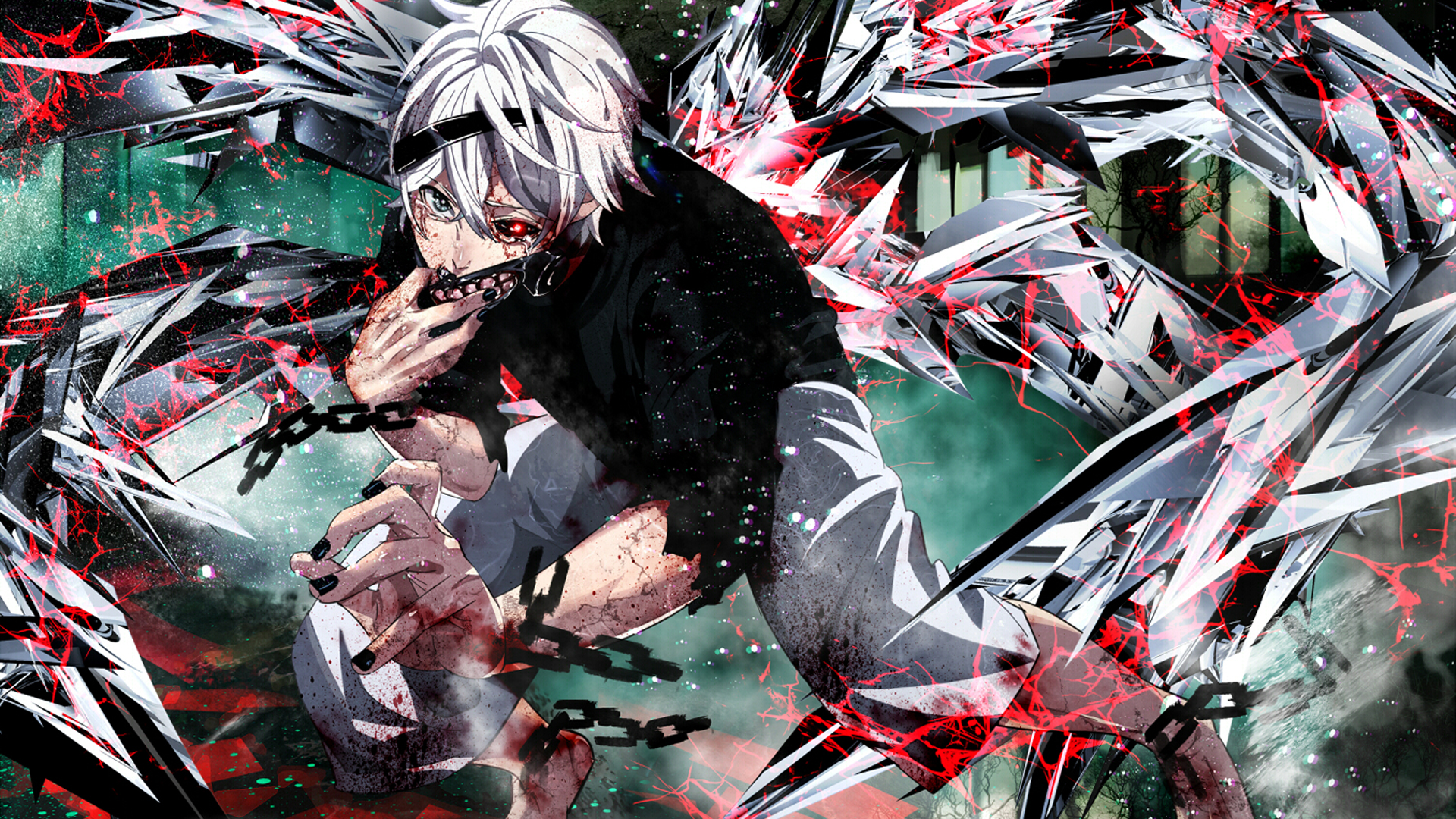 Letras anime Unravel Tokyo GhoulTK 1920x1080