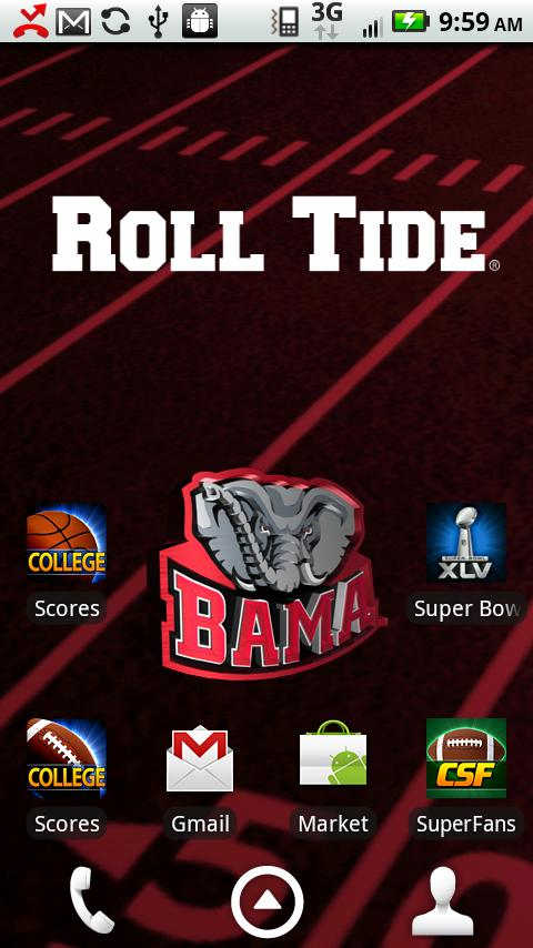 Alabama Live Wallpaper HD   Android Apps on Google Play 480x854