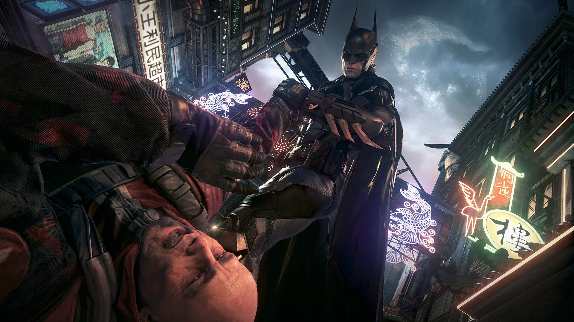 batman arkham knight game hd 1920x1080 1080p wallpaper and compatible ...