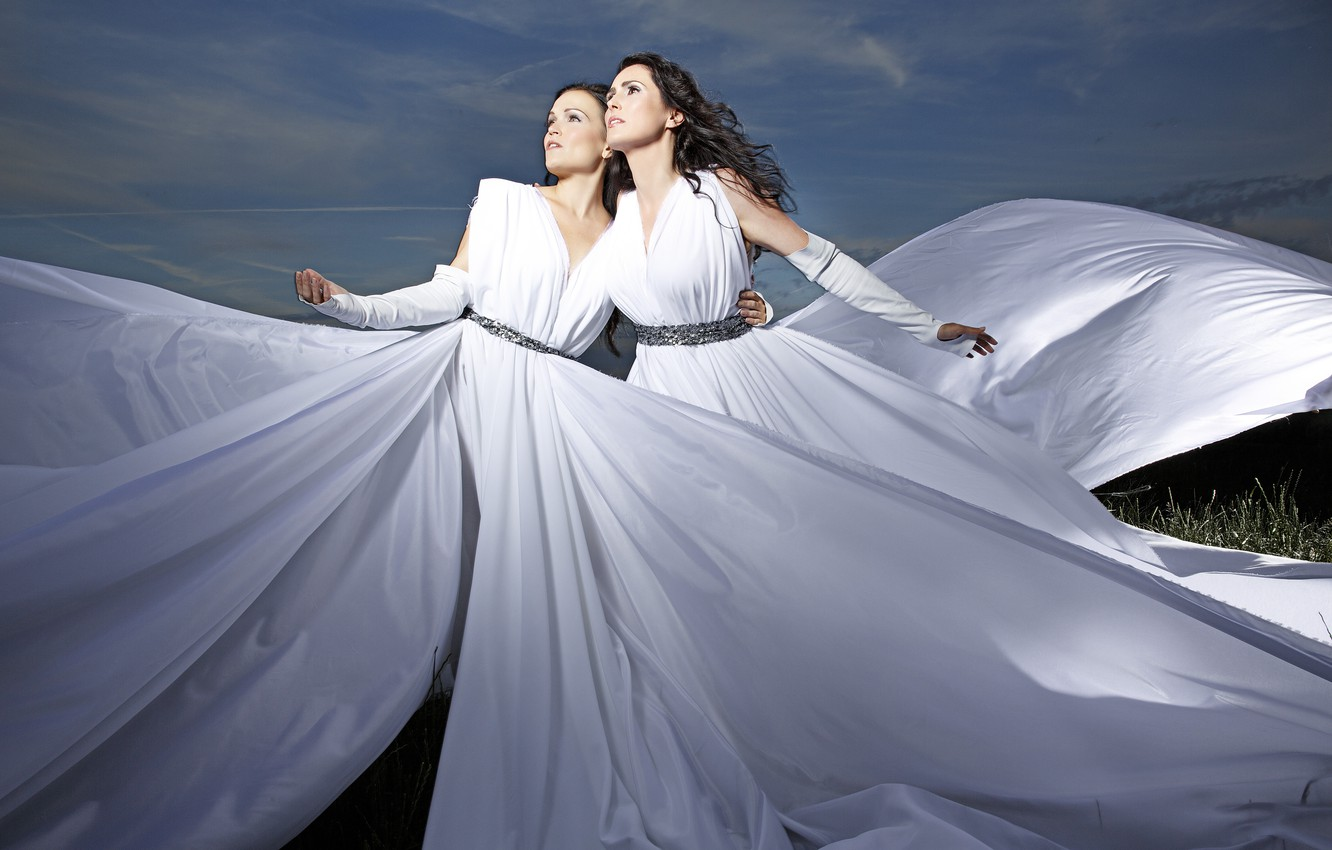 Wallpaper Within Temptation Tarja Turunen Tarja Sharon den adel 1332x850