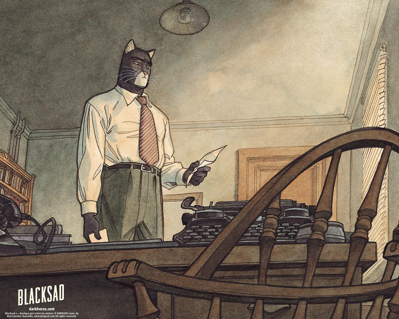 Blacksad Desktops Dark Horse Comics 1280x1024