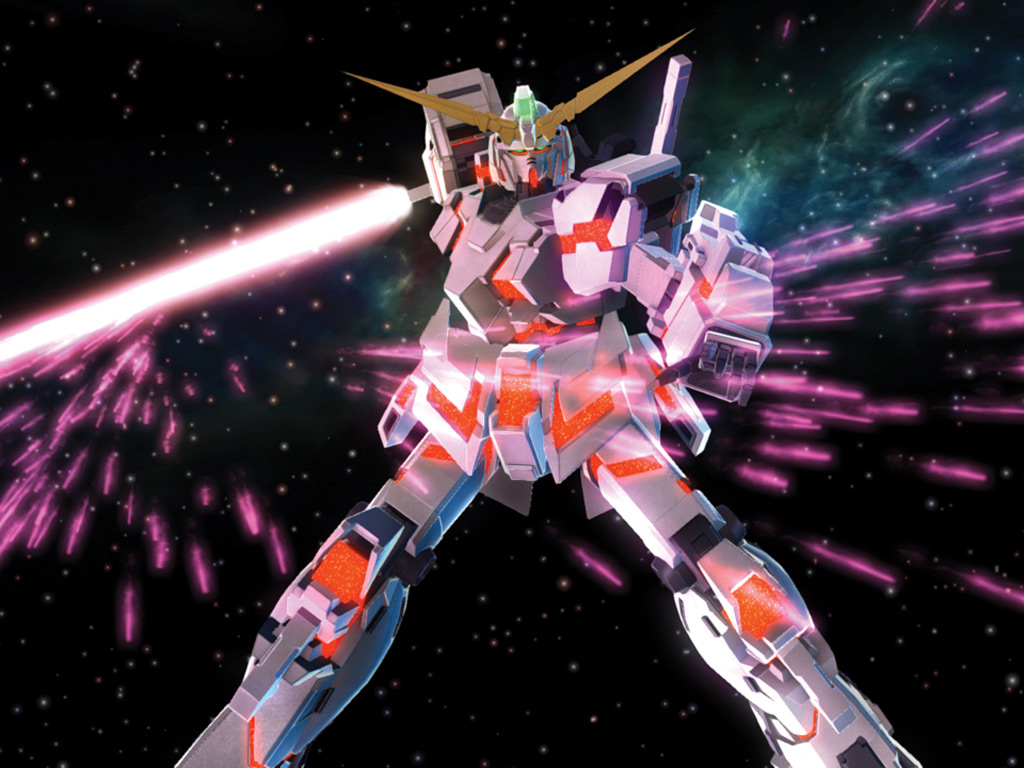 Wallpapers of Mobile Suit Gundam UC Anime 1024x768