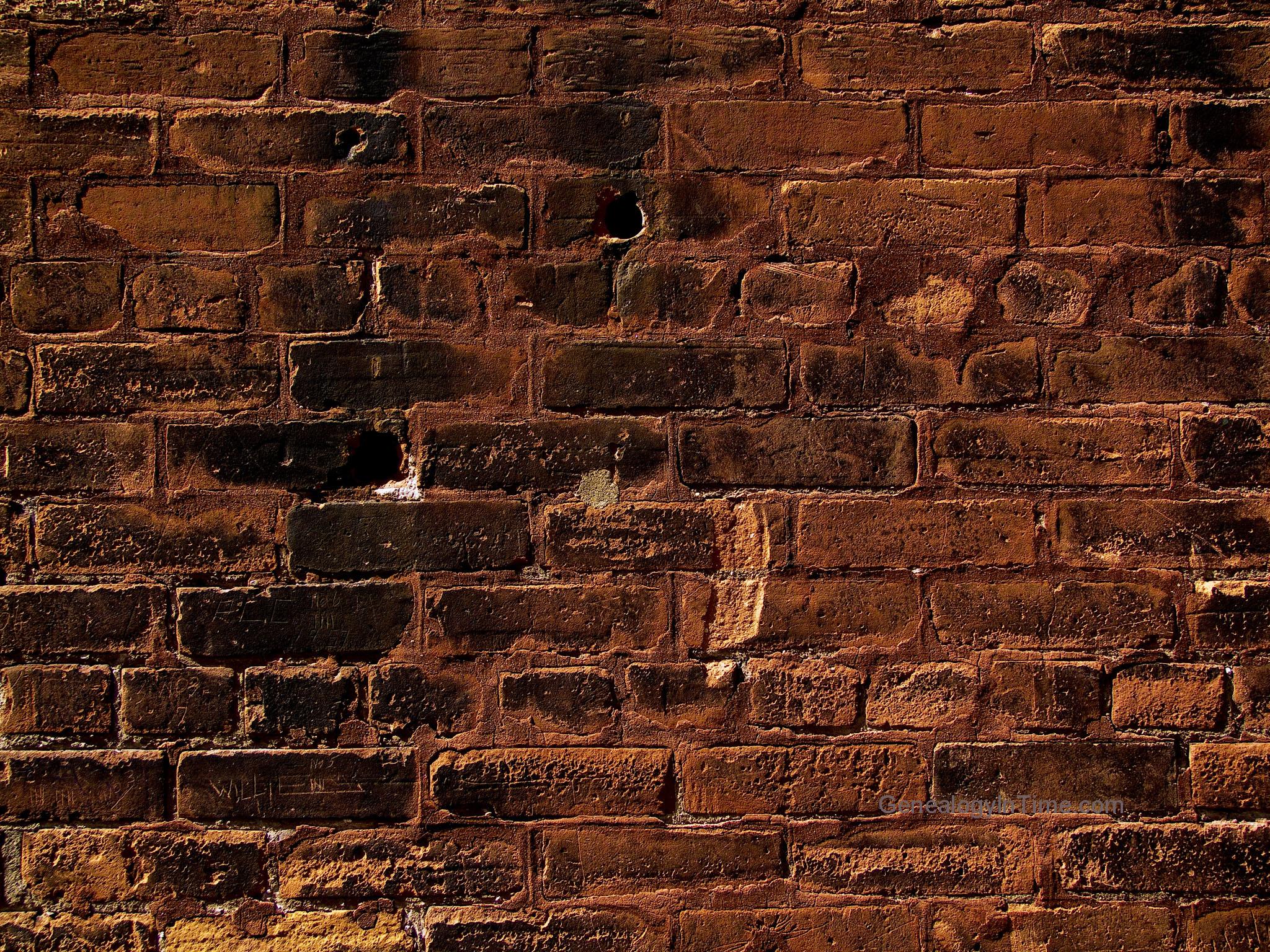 Fotos de paredes de ladrillos pintadas 87