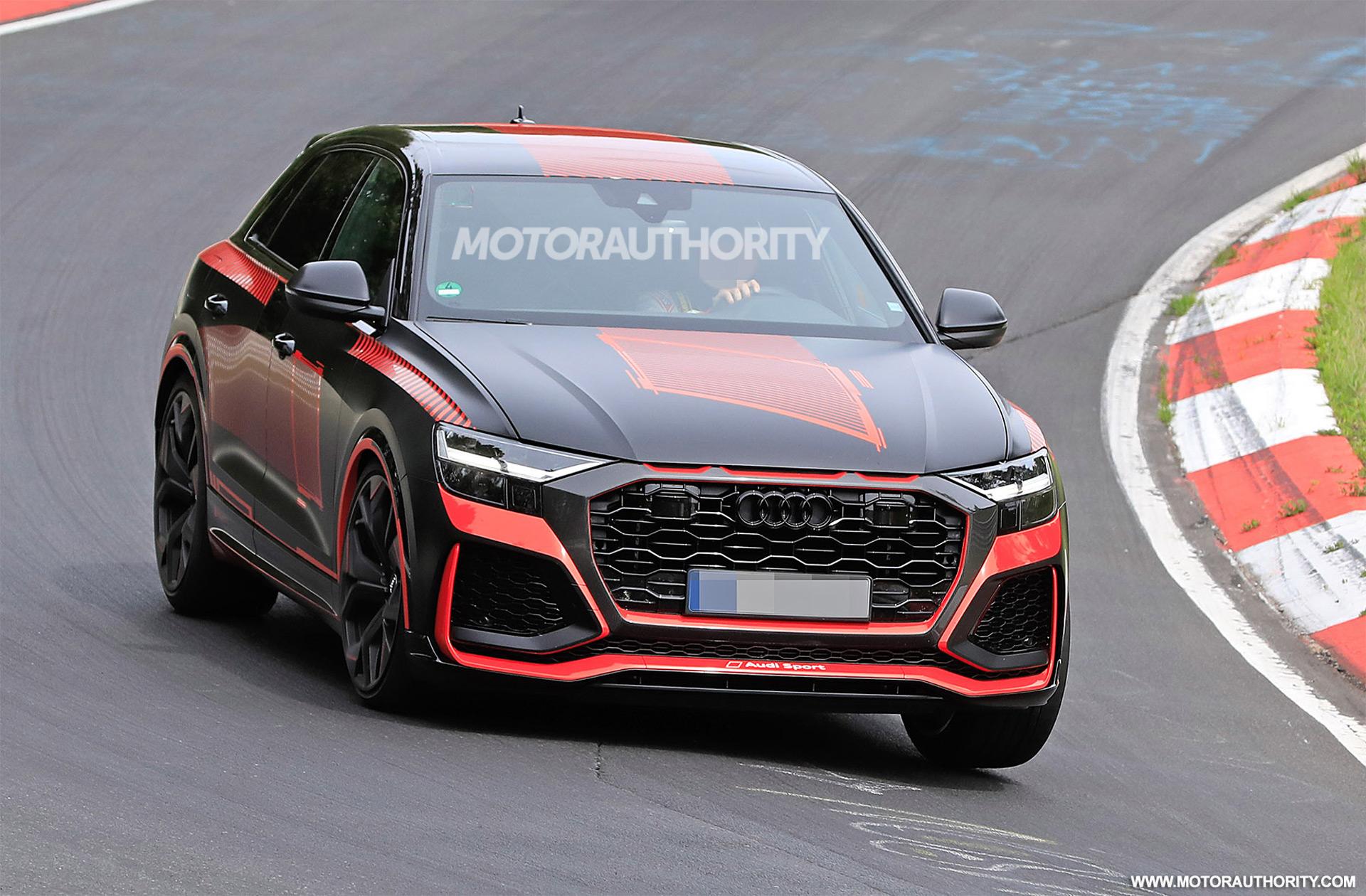 2020 Audi RS Q8 spy shots and video 1920x1260