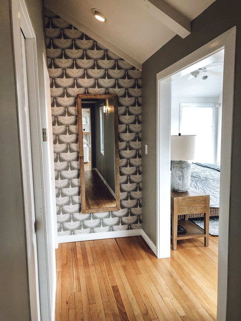 After Hallway Accent Wall Wallpaper living room accent wall 768x1024